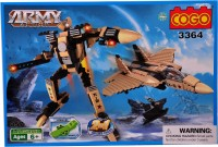 Mera Toy Shop Robot Construction Set -357 Pcs (Multicolor)