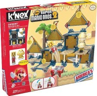 K'Nex Knex Super Mario Desert Building Set (Multicolor)