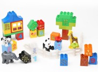 Building Mart Numerical Learning Building Block Set - 42 Pieces (Multicolor)
