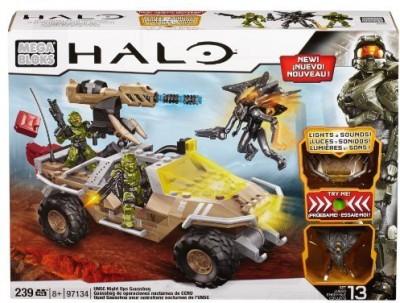 Mega Bloks Blocks & Building Sets Mega Bloks Halo UNSC Night Ops Gausshog