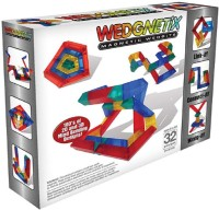 Wedgits WEDGNETiX 32 -Pcs Set (Multicolor)