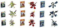 Lego Mixels Series 4 Complete Set Of 9 Globert Vampos Boogly Meltus Flamzer Burnard Rokit Niksput (Multicolor)