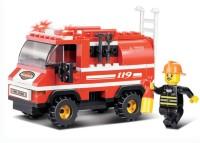 Sluban Mini Fire Truck (Multicolor)