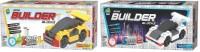 Applefun Set Of Mini Builder Blocks Speed Racer 1 & 2 (Multicolor)