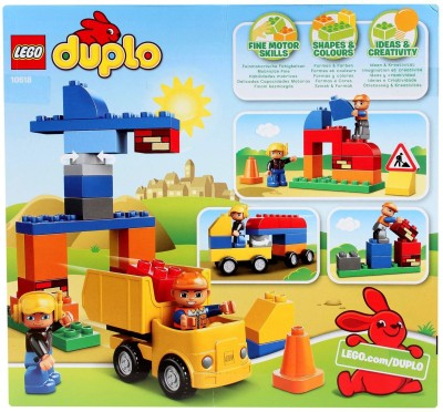 Lego Duplo My First Construction Site 10518 Instructions