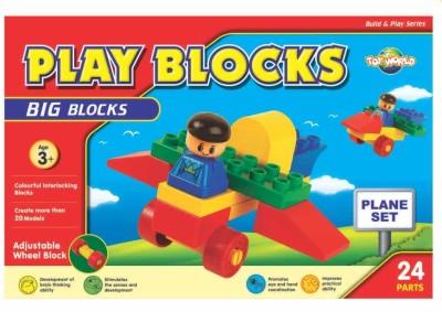 Virgo Toys Play Blocks Plane Set