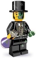 LEGO 71000 Series 9 Mini Mr Good And Evil (Black)