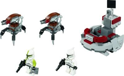 Lego Star Wars Clones vs Droidekas Lego Star Wars Clone