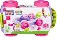 Fisher Price First Builders Play 'n Go Tea Party (Multicolor)
