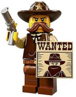 Lego Minifigures Series 13 Sheriff Construction Toy (Multicolor)