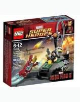 LEGO Superheroes Iron Man Vs. The Mandarin Ultimate Showdown (Multicolor)