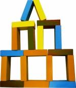 Kinder Creative Blocks & Building Sets Kinder Creative Building Bricks