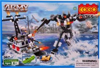 Mera Toy Shop Robot Construction Set -367 Pcs (Multicolor)