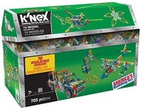 K'Nex 70 Model Building Set, 13419, 705 Piece (Multicolor)