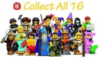 LEGO Series 12 Collectible Minis 71007 Complete Set Of 16 (Multicolor)
