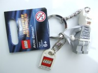LEGO 850815 Dc Universe Super Heroes Arctic Batman Key Chain (Multicolor)