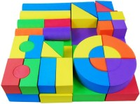 Krypton Foam Building Blocks 50 Pcs Set (Multicolor)