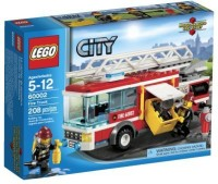 LEGO City Fire Truck 60002 (Multicolor)