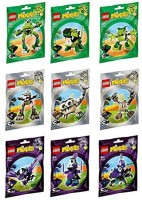 LEGO Mixels Series 3 Complete Set Of All Figures/Characters (Multicolor)