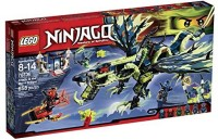 LEGO Ninjago 70736 Attack Of The Morro Dragon Building Kit (Multicolor)