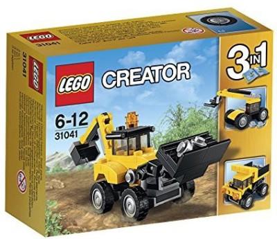 Lego Construction Vehicles (Multicolor)