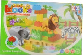 Mera Toy Shop Zoo Blocks 26 pcs