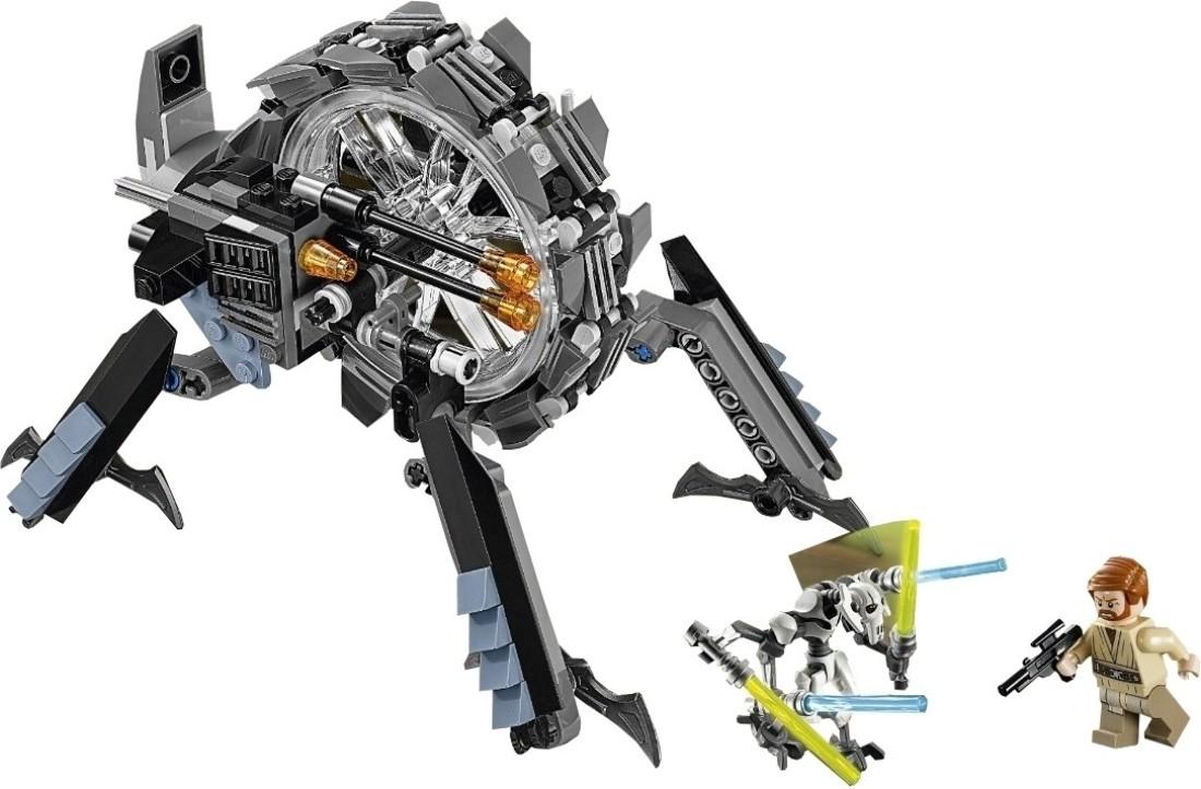 Lego Star Wars - General Grievous' Wheel Bike - Star Wars ...