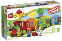 LEGO DUPLO My First Number Train Building Set 10558 (Multicolor)