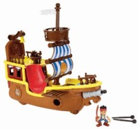Fisher-Price Jake And The Neverland Pirates - Adventure Bucky (Multicolor)