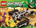 Lego Ninjago Ultra Sonic Raider Set 9449 - Multicolor