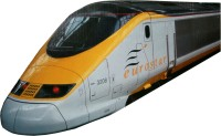AdraxX Electric Modern Bullet Train Toy With Track (Multicolor)