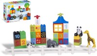 Toys Bhoomi Numerical Learning Building Block Set - 42 Pieces (Multicolor)