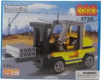 Toy Mall Cogo Engineering Block Set-3720 (Multicolor)