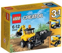 Lego Construction Vehicles 31041 (Multicolor)