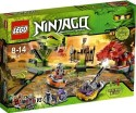 Lego Ninjago Exclusive Set 9456 Spinner Battle - Multicolor