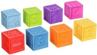 Infantino Squeeze And Stack Block Set (Multicolor)
