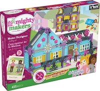 K'Nex Mighty Makers Home Designer Building Set (Multicolor)