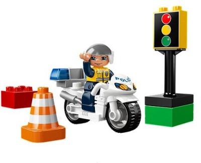 Lego Blocks & Building Sets Lego Police Bike