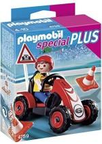 Playmobil Blocks & Building Sets Playmobil Boy with Racing Cart