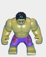 Lego Marvel Super Heroes Age Of Ultron Minifigure - Incredible Hulk (2015) (Multicolor)