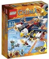 LEGO Chima 70142 Eris' Fire Eagle Flyer Building Toy (Multicolor)