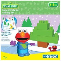 K'Nex Elmo'S Chilly Day Building Set (Multicolor)