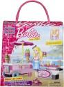 Mega Bloks - Barbie Build N Style - Ice Cream Cart - Multicolor