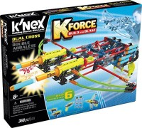 K'Nex K-Force Dual Cross Building Set, 368 Pc (Multicolor)