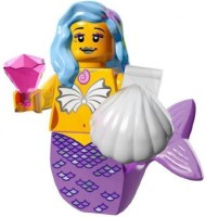 LEGO Minifigure Collection LEGO Movie Series Marsha Queen Of The Mermaids (Multicolor)
