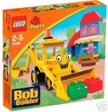 Lego Duplo Bob The Builder Scoop At Bobland Bay Set 3595 - Multicolor