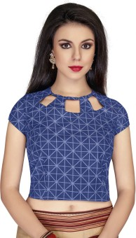 Meena Prints Round Neck Women's Blouse