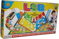 Sun Enterprises Lsb Three In One Board Game