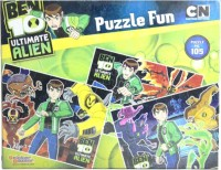 Sticker Bazaar Offically Licensed- Board Game Of Ben 10 Ultimate Puzzel Fun Board Game