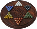 Craft Art India Board Games Craft Art India Wooden Chinese Checkers Marbles Set Board Game